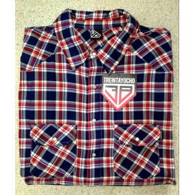 Camisa Escocesa Manga Larga ** 38 Special ** 3 Xl Y 4 Xl