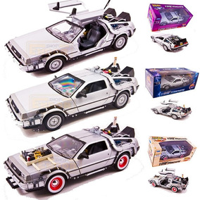 Autos A Escala 1:24 Delorean Volver Al Futuro X3 Welly