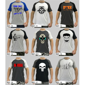 Camiseta Masculina Casual Treino T-shirt Camisa Blusa Blusas