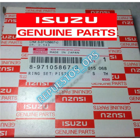 Anillo Npr Standard/std 4hg Turbo Original Isuzu (2000/2013)