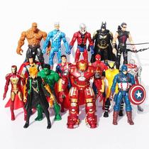 Muñecos Articulados De Superheroes Avengers Vengadores X6