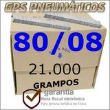 Grampo Pneumatico 80/08 - Com 21.000 Grampos