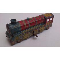 Antiga Locomotiva De Lata E A Corda Da Metalma - De 1938