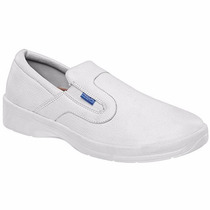 Zapato Medico Enfermero Blanco Cliff 4015 Envio Gratis