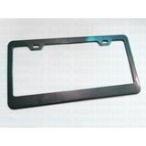 Porta Placa Metálica Universal Tipo Fibra De Carbono