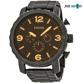 Reloj Fossil Nate Cronógrafo Jr1356 - 100% Original