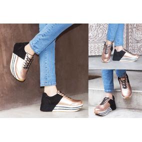 Zapatillas De Mujer Con Plataforma, Tallas, Taco, Zapato