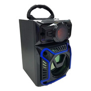 Parlante Bluetooth Portátil Luces Radio Usb Bt01 Hbltech