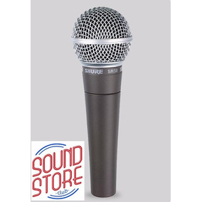 Microfone Shure Sm58 Lc Com Fio Original C/ Nota + Camiseta