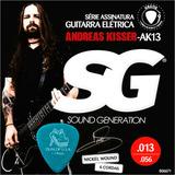 Dunlop 1.14 + Cordas Guitarra 013 056 Sg Andreas Kisser 6671