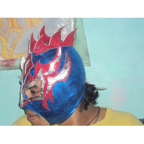 Wwe Mascara De Luchador Kalisto Lycra Piel Economica P/adult