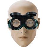 Óculos Solda Lente Dupla Articulável Emborrachado 2 Funções
