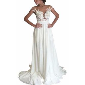 Vestido De Noiva Estilo Boho Chic