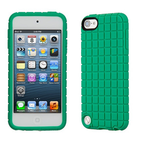 Speck Pixelskin For Ipod Touch 5/6 Malachite Green