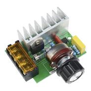 Regulador De Velocidad Potencia 4000w Variador Dimmer Scr