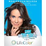 Lentes De Contato Coloridas Descartável Mensal Life Color