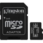 Cartão Memória Kingston Micro Sd Hc 32gb Canvas Select Plus