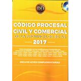 Código Procesal Civil Y Comercial De La Prov. De Bs.as. 2017