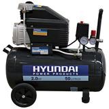 Compresora De Aire Hyundai - 50 Litros - Motor De 2 Hp
