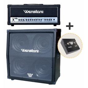 Combo Wenstone Cabezal Amplificador Ge-1600h + Caja G-1960