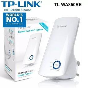 Repetidor Amplificador De Wifi Tp-link 300mbps Tl-wa850re