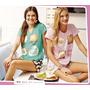 Pijama Tutta La Frutta Sunday Mode 458-17 Talles 10 A 16 Dor