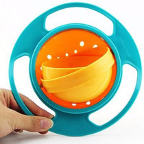 Tigela Mágica Gyro Bowl Infantil Pote 360 Graus Resistente