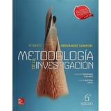 Libro Metodología De La Investigación / Sampieri Mcgraw Hill