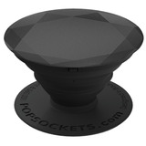 Popsockets Soporte Celular Y Tablet - Black Metallic Diamond