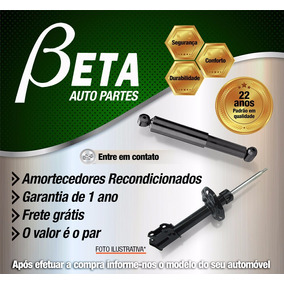 Amortecedor Dianteiro Vectra 96 97 98 99 00 01 02 03 04 05