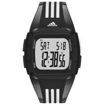 Relógio Adidas Duramo Mid Adp6093/8pn Preto/ Branco Original