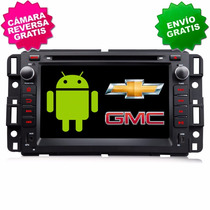Chevrolet Gmc Android 5.1.1 Gps Silverado Tahoe Suburban 3g