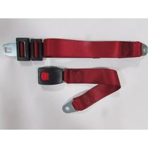 Cinto De Segurança Automotivo Abdominal - Vermelho