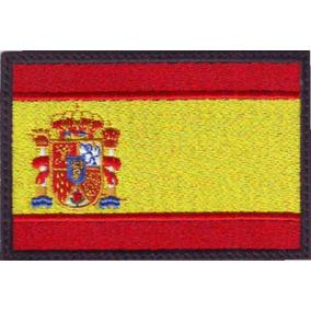 España Bandera Parche Bordado