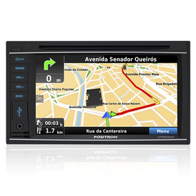Doble Din Positron Sp8920 Gps Mp3 Usb Tv Digital Lcd 7