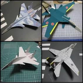 Planos Aviones Para Armar Papercratf Modelismo Militar