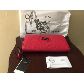 Cartera Para Dama Cloe 100% Original Nueva Roja
