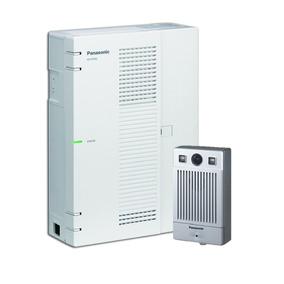 Central Kx Hts + 1 Porteiro Residencial Ntv160 Kit Panasonic