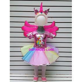 Disfraz Unicornio Tutu Princesa Alas Blusa Mallas Diadema