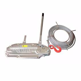 Tirfor Elemento Traccion Carga 1600 Kg Con Cable 50 M Alba