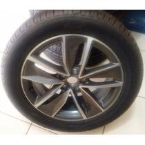 Jogo Rodas/pneus Orig. 235/50/r18 Duele H/p 97v Bridgestone