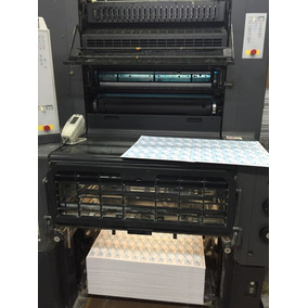 Máquina Offset Press 2001 Heidelberg Printmaster 74-2