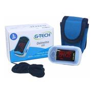 Oximetro Digital De Dedo E Pulsão Portatil Led G-tech
