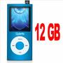 Mp4 Player 12gb Quanta Usb Fm Mp3 Com Alto Falante Externo