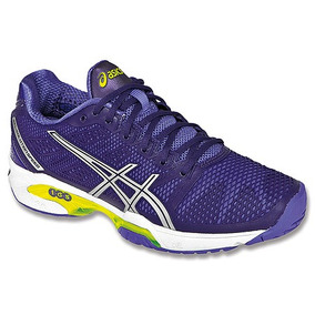 Zapatilla Asics Dama Solution Speed 2 Unicas Talle Grande !!