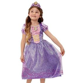 4-6x Disney Princess Amistad Aventuras Vestido De Rapunzel