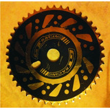 Hoja Plato Gt 44t Caja Americana Tambor Ancho Bmx Bicicross