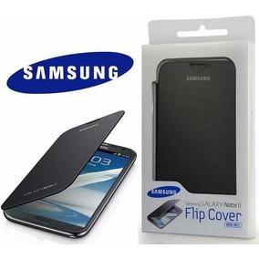 Funda Flip Cover Samsung N7100 I317 Galaxy Note 2 Negra