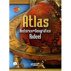 Livro - Atlas Histórico - Geográfico Rideel - Luiz Antonio F