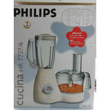 Multiprocesadora Philips 4en1 700w Made In Hungria Impecable